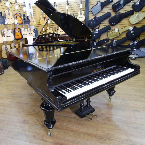 Bechstein Model B Black Boudoir Grand Piano