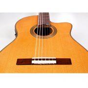 Cordoba Fusion 12 Natural Classical Electro Acoustic 6 String Cutaway Guitar 5