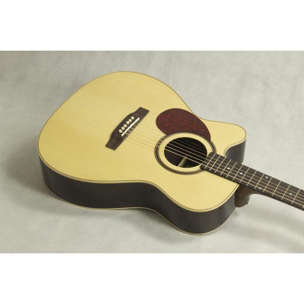Freshman 400 Series FA400GACELF Left Hand Electro Acoustic 6 String Grand Auditorium Body Cutaway Guitar