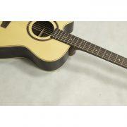 Freshman 400 Series FA400GACELF Left Hand Electro Acoustic 6 String Grand Auditorium Body Cutaway Guitar 4