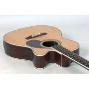 Freshman Apollo 1OC Electro Acoustic 6 String Grand Auditorium Body Cutaway Guitar 2