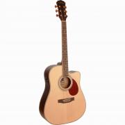 Freshman Apollo 1DC Electro Acoustic 6 String Dreadnought Cutaway Guitar