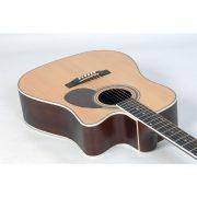 Freshman Apollo 1DC Electro Acoustic 6 String Dreadnought Cutaway Guitar 6