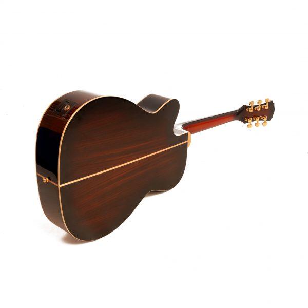 Freshman Apollo 20CSB Electro Acoustic 6 String Grand Auditorium Body Cutaway Guitar