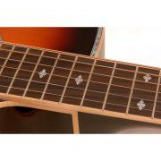 Freshman Apollo 20CSB Electro Acoustic 6 String Grand Auditorium Body Cutaway Guitar 4