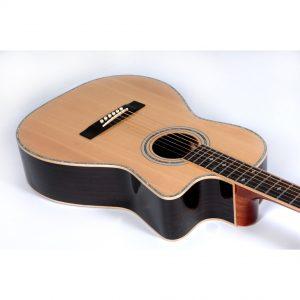 Freshman Apollo 2PAR Electro Acoustic 6 String Parlour Body Cutaway Guitar