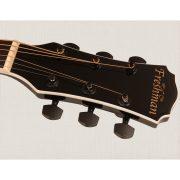 Freshman Maple Ridge FA1ABK Electro Acoustic 6 String Folk Body Cut Away Guitar 4
