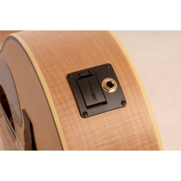 Freshman Maple Ridge FA1AM12 Electro Acoustic 12 String Folk Body Cut Away Guitar