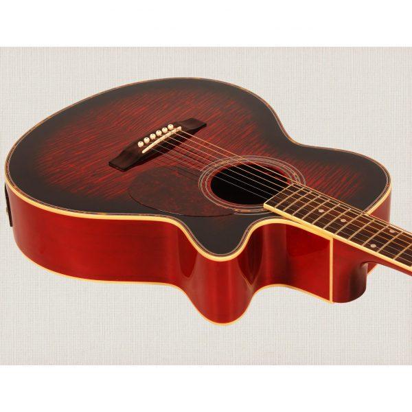 Freshman Maple Ridge FA1AWR Electro Acoustic 6 String Folk Body Cut Away Guitar