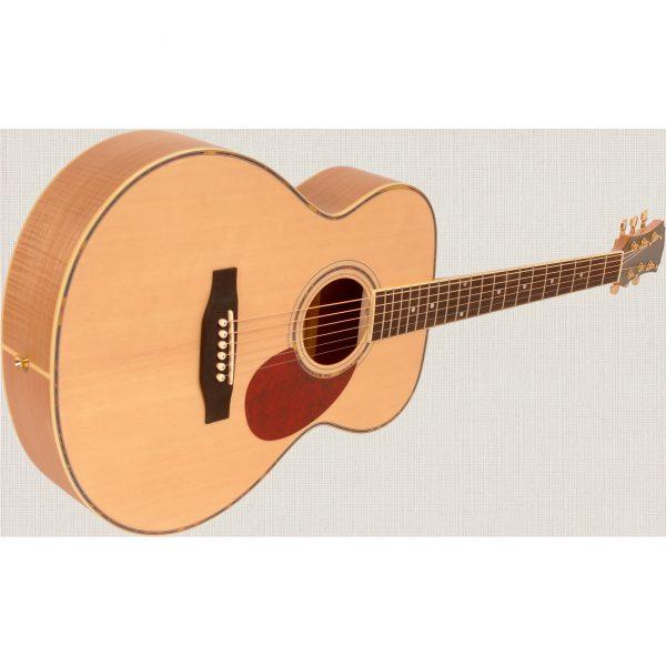 Freshman Maple Ridge FA1GAM Acoustic 6 String Folk Body Guitar