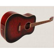 Freshman Renegade RENDWR Acoustic 6 String Dreadnought Guitar 2