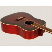 Freshman Renegade RENDWR Acoustic 6 String Dreadnought Guitar 3