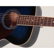Freshman Renegade RENFBL Acoustic 6 String Folk Body Guitar 4