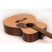 Freshman Renegade RENFN Acoustic 6 String Folk Body Guitar 3