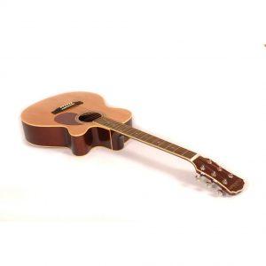 Freshman Renegade RENOCNAT Electro Acoustic 6 String Folk Cutaway Guitar