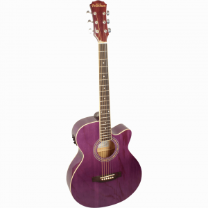 Freshman Renegade RENOCP Electro Acoustic 6 String Folk Cutaway Guitar