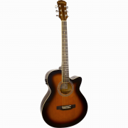 Freshman Renegade RENOCSB Electro Acoustic 6 String Folk Cutaway Guitar