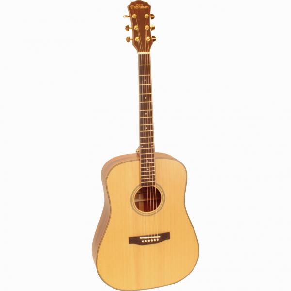 Freshman Songwriter SONGDLH Left Hand Acoustic 6 String Dreadnought Guitar