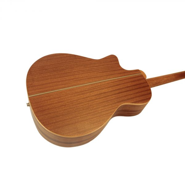 Freshman Songwriter SONGOC Electro Acoustic 6 String Orchestra Body Cut Away Guitar