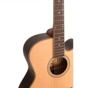 Freshman Songwriter SONGOCRW Electro Acoustic 6 String Orchestra Body Guitar 3
