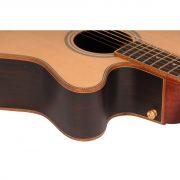 Freshman Songwriter SONGOCRW Electro Acoustic 6 String Orchestra Body Guitar 6