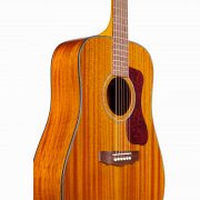 Guild Westerly D-120 Natural Acoustic 6 String Dreadnought Body Guitar 4