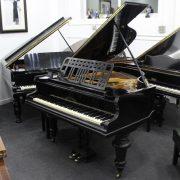 Johann Kuhse Black Baby Grand Piano