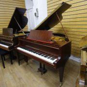 Welmar Mahogany Baby Grand Piano