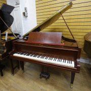 Welmar Mahogany Baby Grand Piano 2