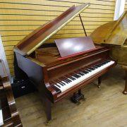 Welmar Mahogany Baby Grand Piano 3