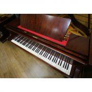 Welmar Mahogany Baby Grand Piano 5