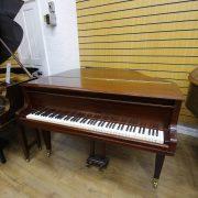 Welmar Mahogany Baby Grand Piano 7