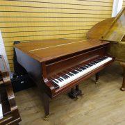 Welmar Mahogany Baby Grand Piano 8