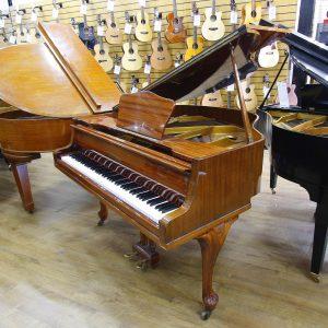 Zimmermann Mahogany Polyester Baby Grand Piano