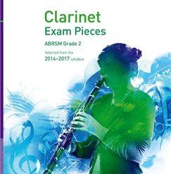 ABRSM Exam Pieces 2014-2017 Grade 2 Clarinet Part