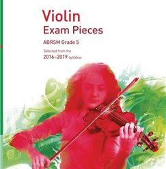 ABRSM: Violin Exam Pieces 2016 2019 - Grade 5 (Part)
