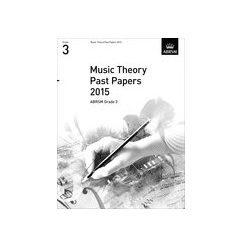 ABRSM Theory Of Music Exam Past Paper 2015: Grade 3