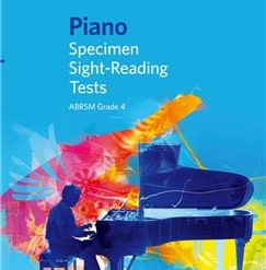ABRSM Piano Specimen Sight Reading Tests: From 2009 (Grade 4)