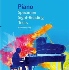 ABRSM Piano Specimen Sight Reading Tests: From 2009 (Grade 7)