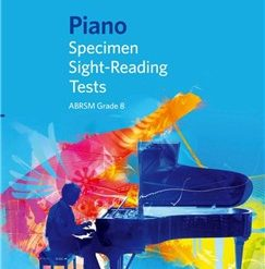 ABRSM Piano Specimen Sight Reading Tests: From 2009 (Grade 8)