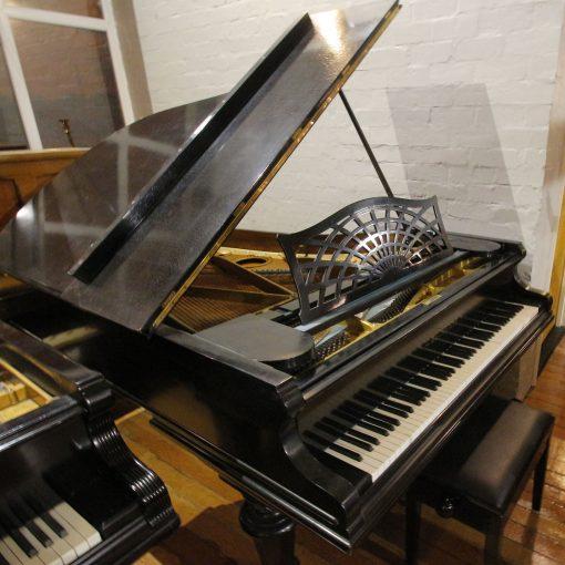 Bechstein Model B boudoir grand piano in a black case
