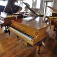 Hagspiel Burr Walnut Baby Grand Piano By Sherwood Pheonix Pianos
