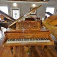 Hagspiel Burr Walnut Baby Grand Piano By Sherwood Pheonix Pianos 2