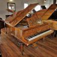 Hagspiel Burr Walnut Baby Grand Piano By Sherwood Pheonix Pianos 3
