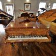 Hagspiel Burr Walnut Baby Grand Piano By Sherwood Pheonix Pianos 7