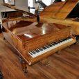 Hagspiel Burr Walnut Baby Grand Piano By Sherwood Pheonix Pianos 8