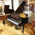 Used Bechstein Model B boudoir grand piano, in a black case, for sale.