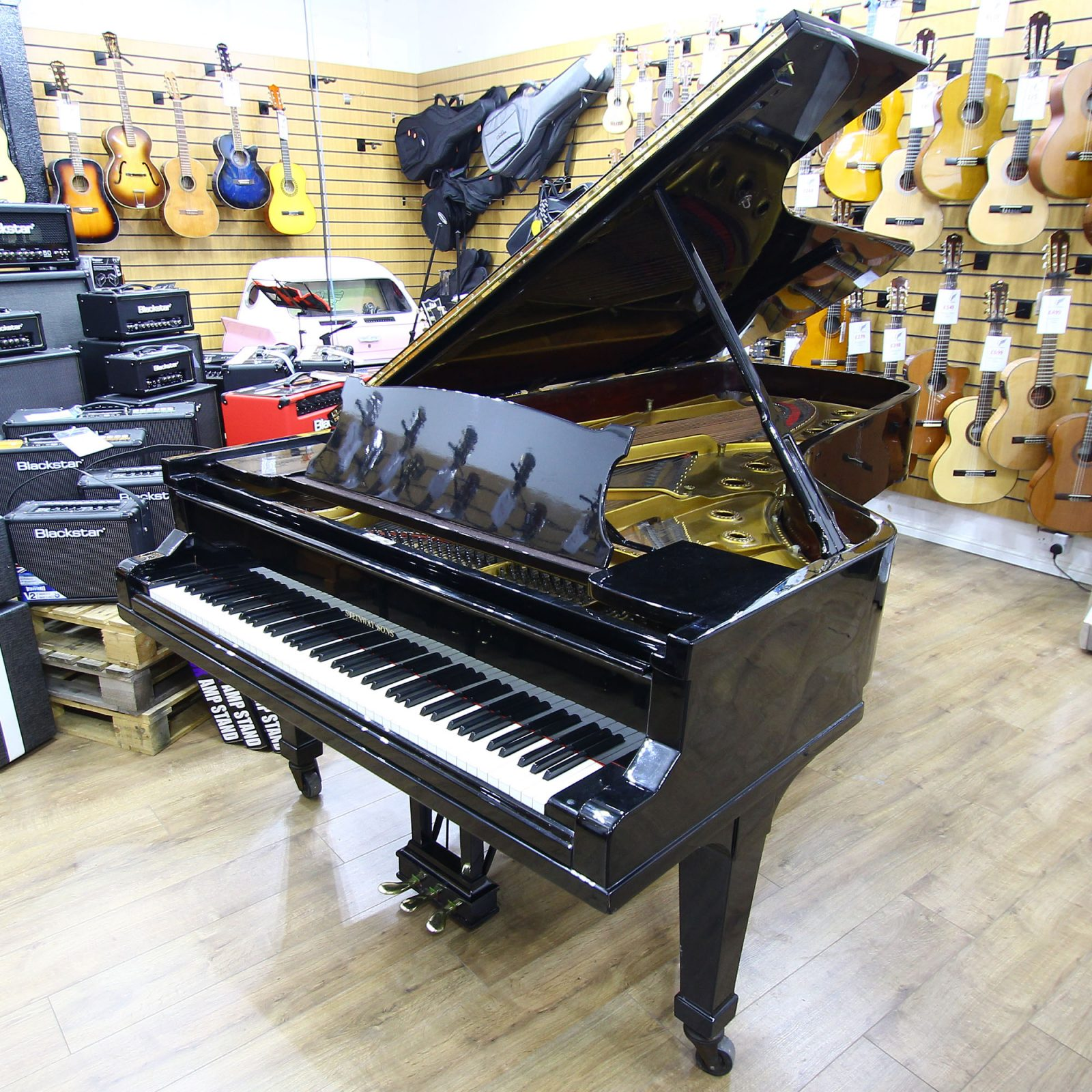 Used Steinway Model D Concert Grand Piano 217368