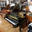 Bechstein Model C boudoir grand piano, in a black case, for sale.