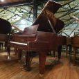 Bosendorfer 200 Boudoir Grand Piano, in a mahogany case, for sale.